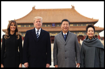 trump in china